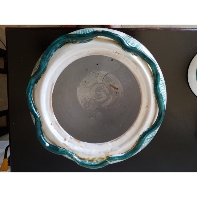Italian Majolica Bowls With Lids - A Pair - Image 10 of 11
