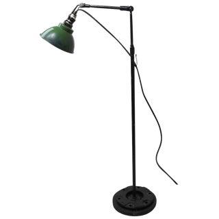 Adjustable Industrial Floor Lamp For Sale