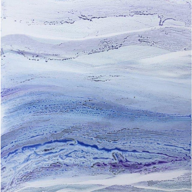 Teodora Guererra, 'Ultra Violet I' Painting, 2018 For Sale