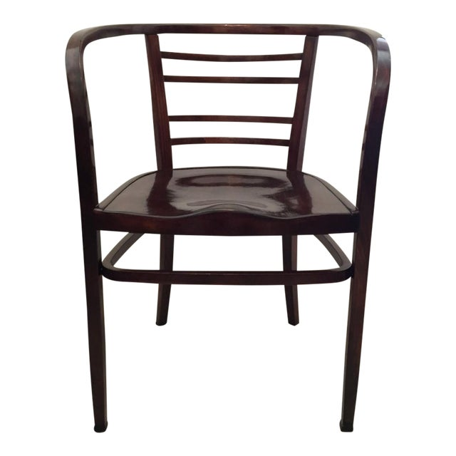 Viennese Secession bentwood armchair, 1900s For Sale