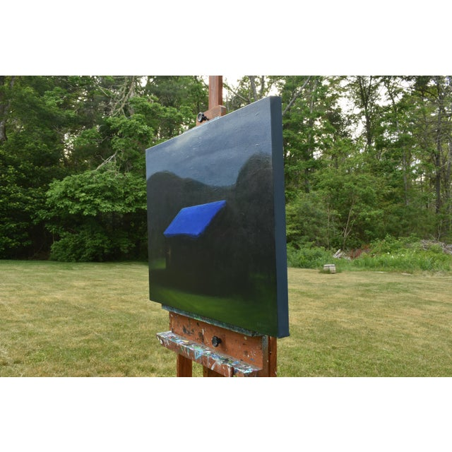 """Canvas """"Temporary Fix With a Storm Approaching"""" Painting For Sale - Image 7 of 12"""