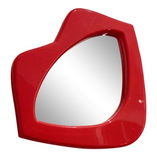 Whimsical Lipstick Lips Mirror