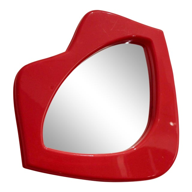 Whimsical Lipstick Lips Mirror For Sale