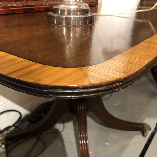 Vintage Queen Ann Convertible Pedetstal Table For Sale - Image 12 of 13