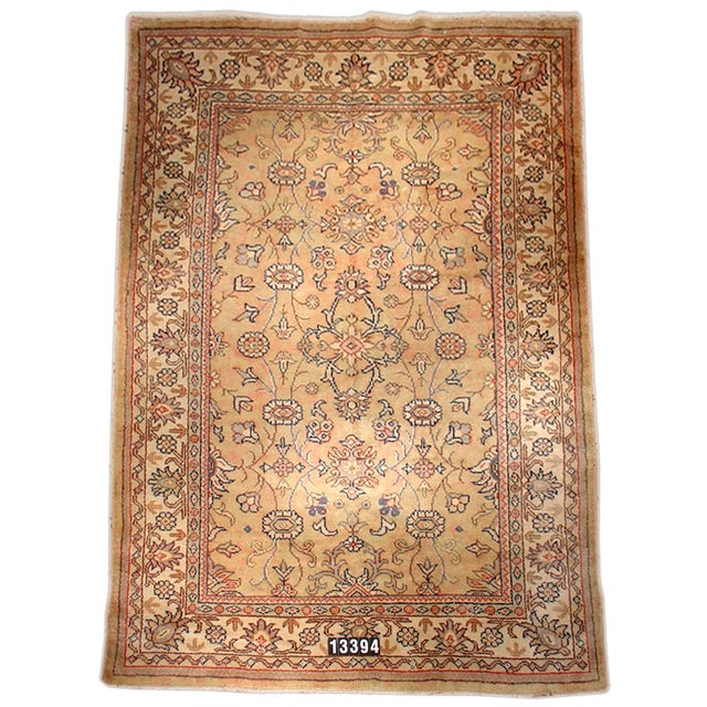 Islamic Turkish Oushak Rug - 8′ × 11′6″ For Sale - Image 3 of 3
