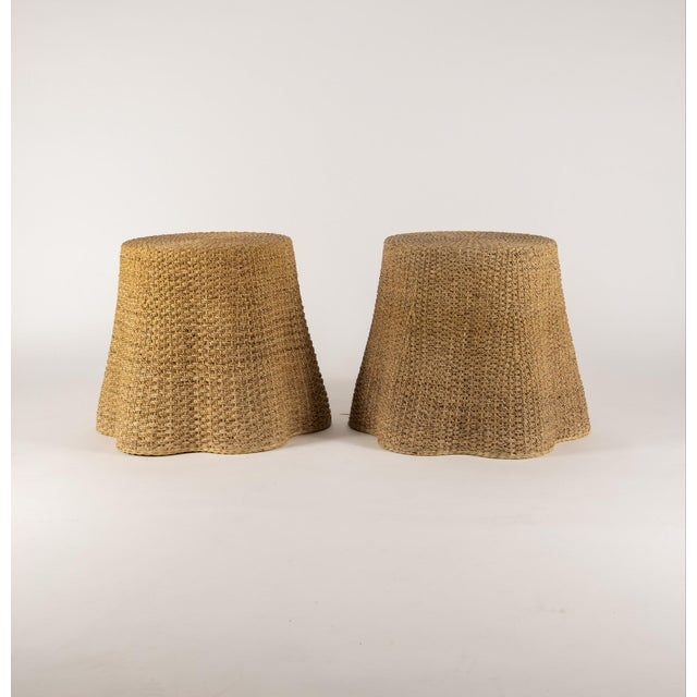 Vintage Trompe l'Oeil Rope Table For Sale - Image 4 of 7
