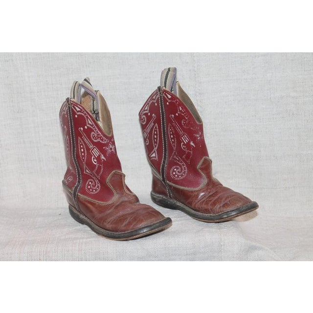 Collection of 1930s Children's Cowboy Boots - Image 8 of 10