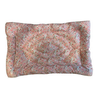 Antique Pink Eiderdown For Sale