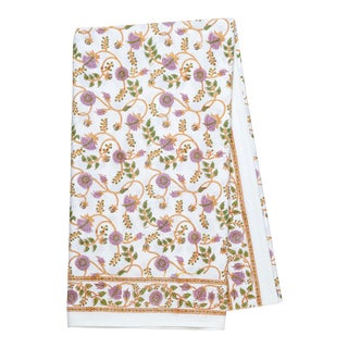 Gina Tablecloth, 4-seat table - Lilac & Green For Sale