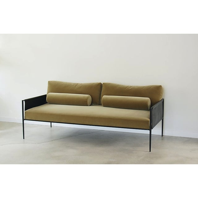 The Lucca Sofa was thoughtfully designed to show off its strong steel architectural structure while still maintaining an...