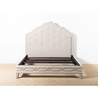 Transitional Upholstered Matthew King Bedframe Preview