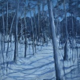 """Image of Contemporary Painting, """"Silent Moonlight"""", by Stephen Remick For Sale"""
