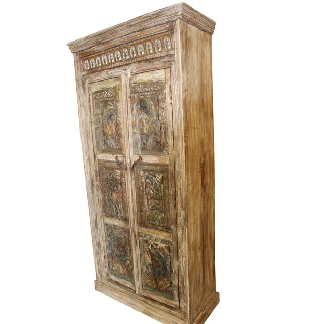India Armoire is a newly designed piece, featured in our Living Room Catalog. Made from solid old wood Make your home the...