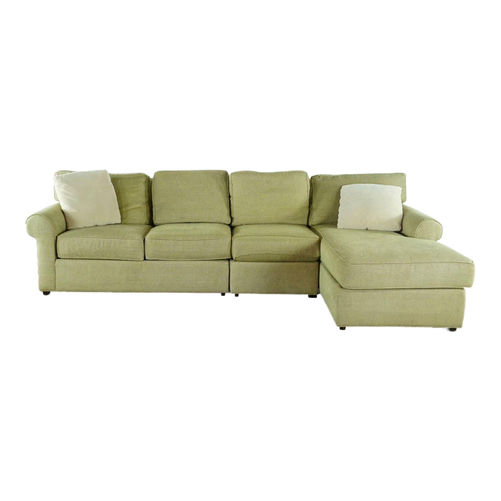 Ethan Allen Upholstered Sectional Sofa