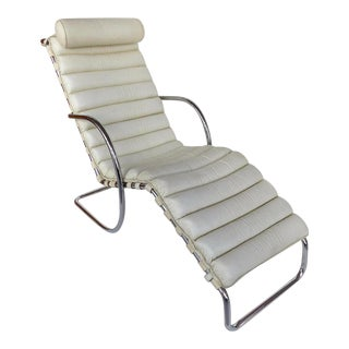 Vintage Mies Van Der Rhoe Mr Chaise For Sale