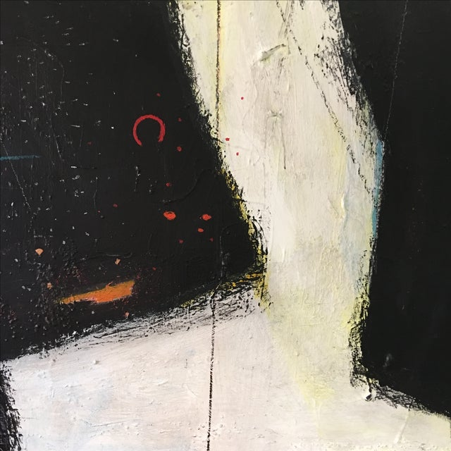 Large Abstract Expressionist Painting - Image 3 of 9