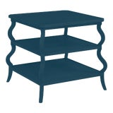 Image of Abbott Tiered Side Table, Gentleman's Gray For Sale