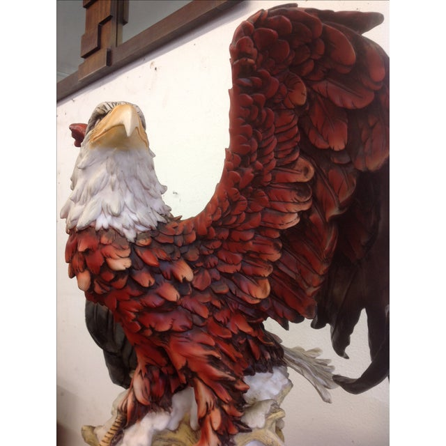 DeCapoli Collection Bald Eagle Sculpture For Sale - Image 9 of 9