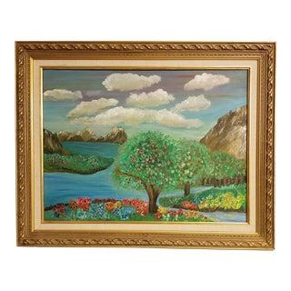 Oregon Apples Watercolour Painting