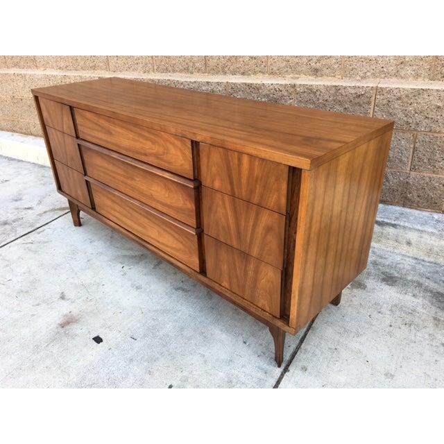 Mid-Century Walnut Dresser - Image 4 of 5
