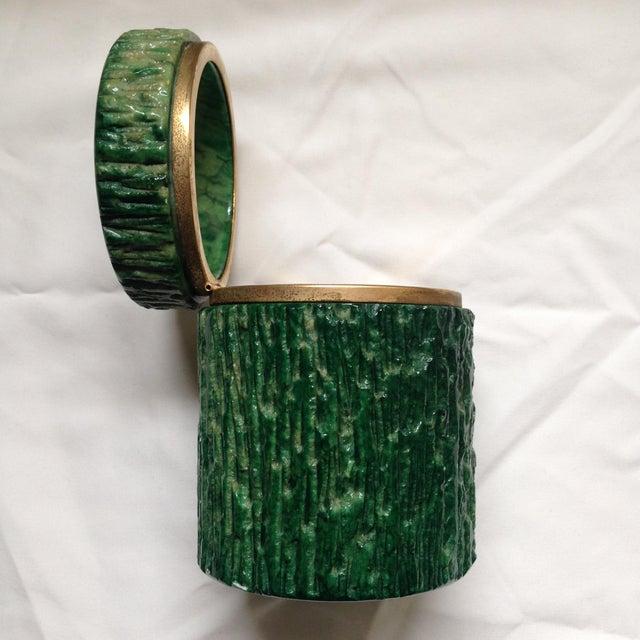 Italian Italian Green Marble Box For Sale - Image 3 of 9