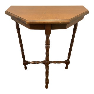 Antique Small Entrance Hall Table For Sale