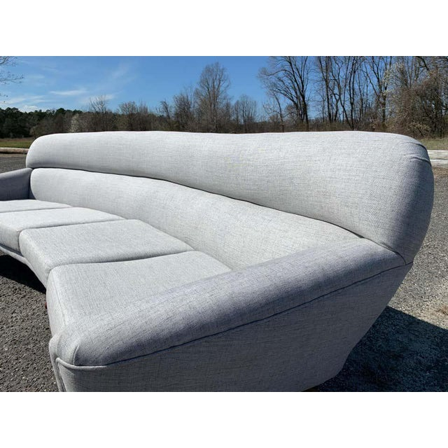 1950s Illum Wikkelso-Mikael Laursen 4-Seat Sofa-Denmark, 1960s For Sale - Image 5 of 11