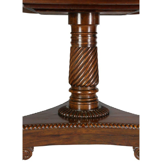 William IV Rosewood Breakfast Table For Sale - Image 4 of 9