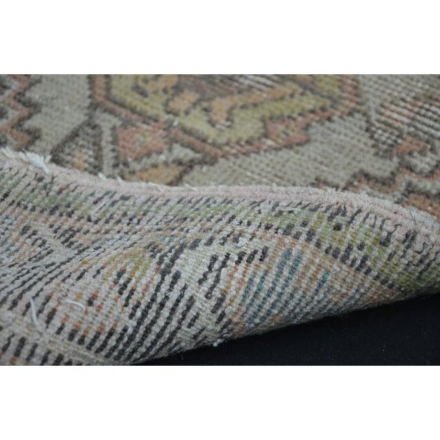 Turkish Rug Austin: Turkish Anatolian Oushak Carpet - 1′7″ × 3′2″