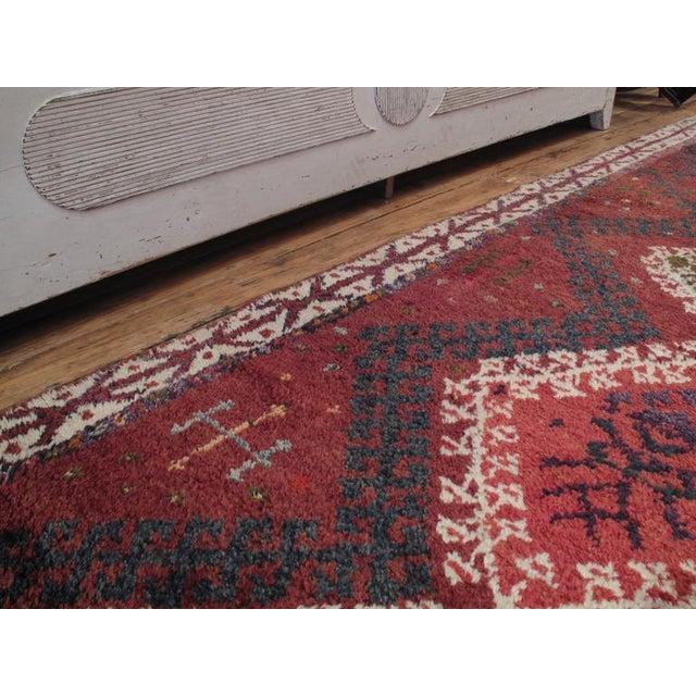 1960s Herki Long Rug For Sale - Image 5 of 8