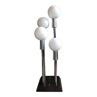 Modern 3 Way Orb Table Lamp For Sale
