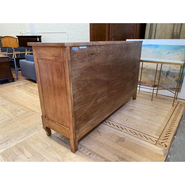 Drexel Heritage Heritage Drexel Heritage Nine Drawer Chestnut Finish Dresser For Sale - Image 4 of 11