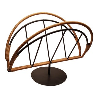 1960s Vintage Arthur Umanoff for Raymor Magazine Rack For Sale