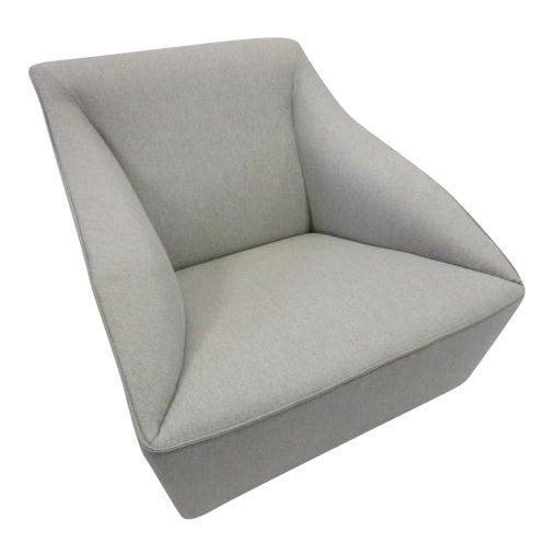 Gray Molteni Doda Low Armchair For Sale