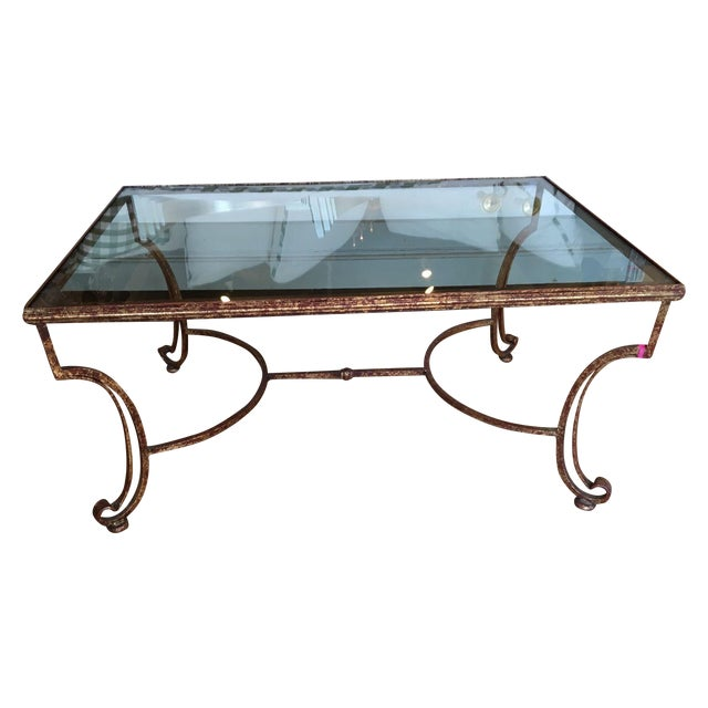Glass Top Coffee Table - Image 1 of 4