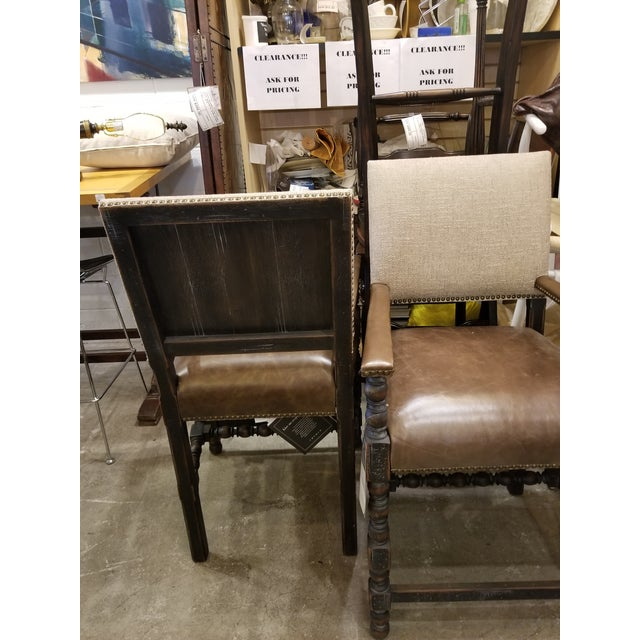Country Transitional Hooker Comfort Counter Stools - a Pair For Sale - Image 3 of 7