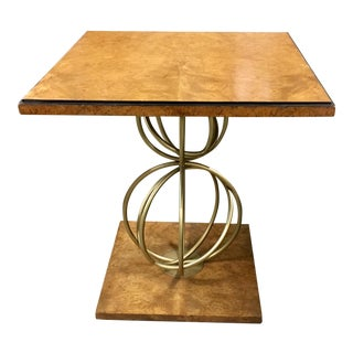 Hollywood Regency Century Furniture Grant Lamp Table For Sale