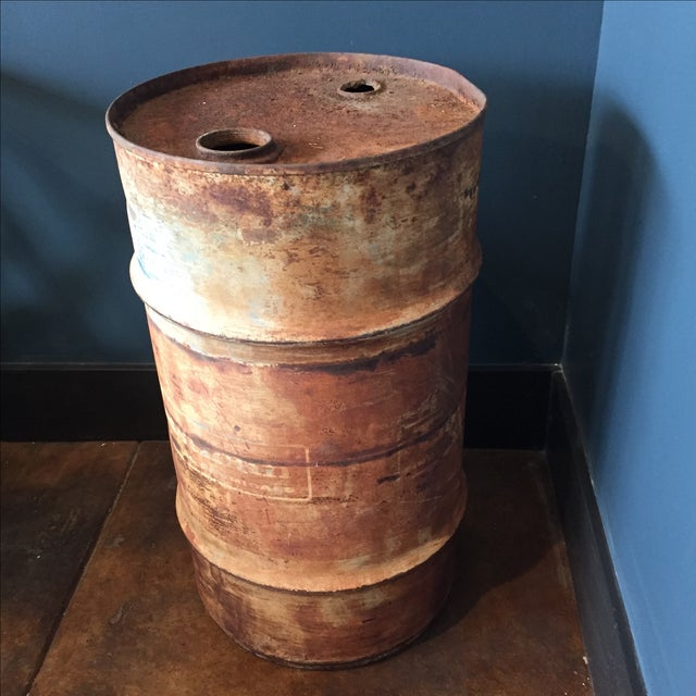 Oil Drum Table - Image 8 of 9