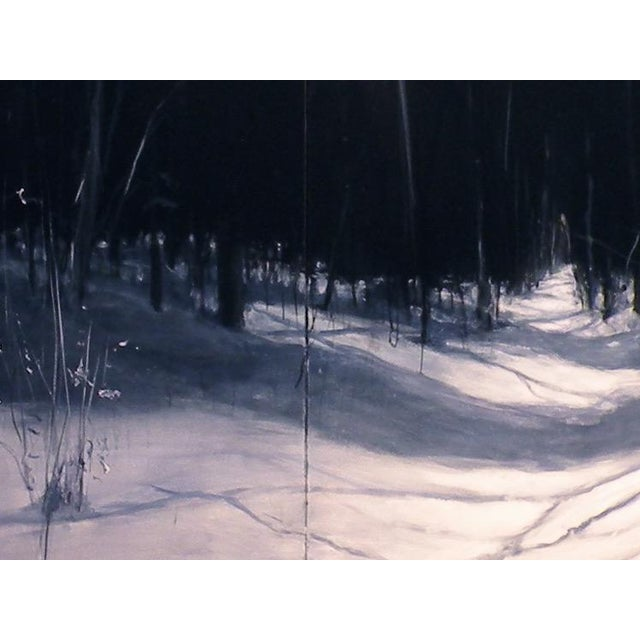 Stephen Remick Original Winter Landscape Painting For Sale - Image 4 of 6
