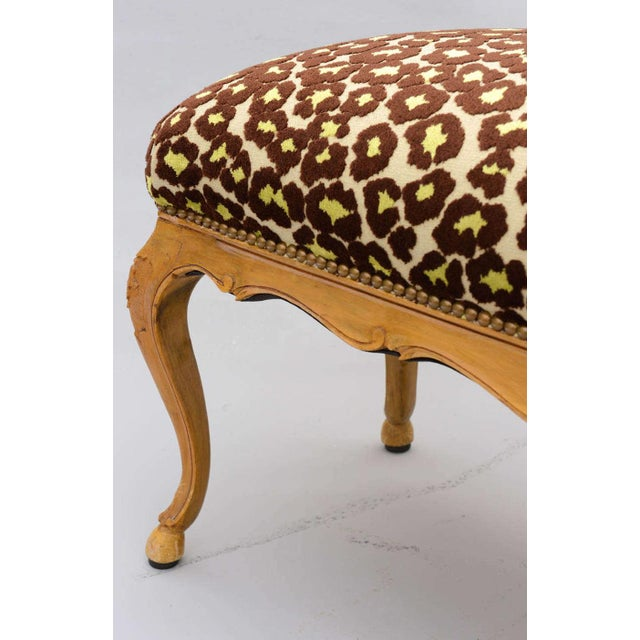 Louis XV Style Upholstered Bench For Sale - Image 9 of 10