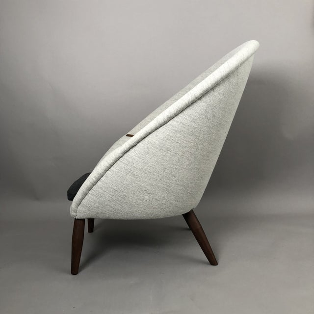 Nanna and Jørgen Ditzel Oda Chair For Sale - Image 4 of 10