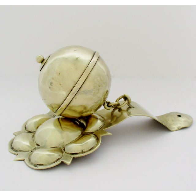 Anglo-Indian Brass Door Knocker For Sale - Image 3 of 6