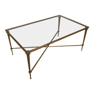 1940s, French, Jansen Style Coffee Table For Sale
