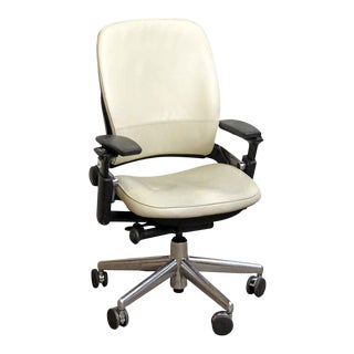 Black & White Office Chair by Steelcase For Sale