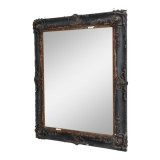 19th Century Baroque French Style Wall Mirror For Sale