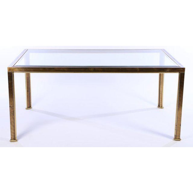 Mastercraft Bronze Dining Table, c. 1970 (no glass, frame only) - Image 5 of 5