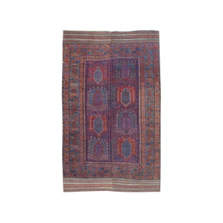 Antique Baluch Main Carpet - 6′5″ × 10′6″ For Sale
