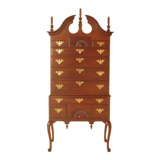Councill Craftsmen Queen Anne Mahogany Highboy Chest