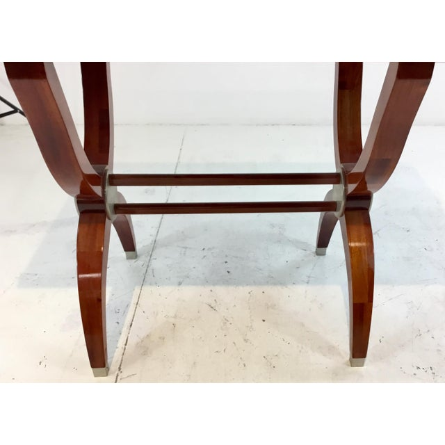 Modern Modern Mahogany Console Table For Sale - Image 3 of 7
