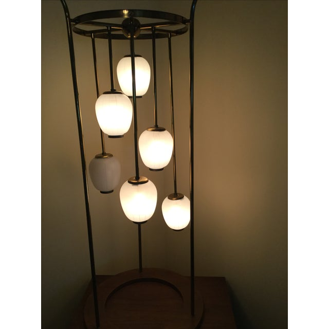 Mid-Century Modern Six Light Lamp - Image 5 of 9